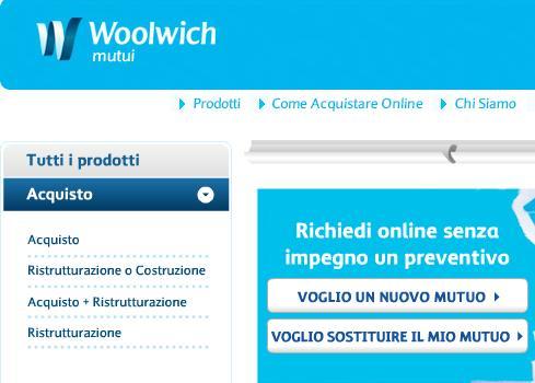 Banca woolwich online