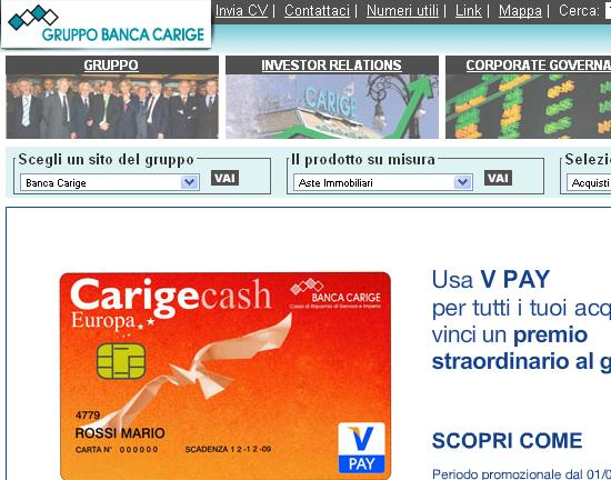 Carige banca online