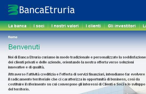 banca etruria online